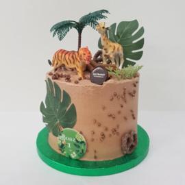 Jungle taart 10-12 personen