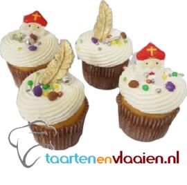 Sint cupcake á 4 stuks