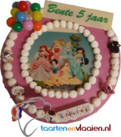 Prinsessentaart rond 12 personen