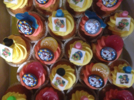Kinder feest cup cakes