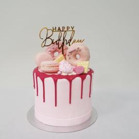 Roze & Beauty drip cake
