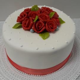 Red Rosus taart 10-12 personen