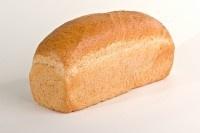 Licht bruin brood gesneden 3 stuks