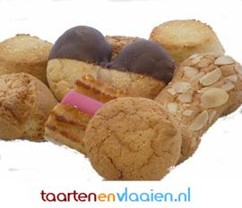 Banket koekjes assorti à 250 gram