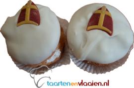 Sint speculaas / sinaasappel gebakjes à 2 stuks