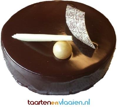 Chocolade taartje 6/8 personen JB