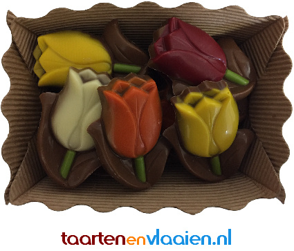Fleurige tulpen 180g