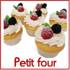 Mini gebak / cup cakes