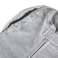 Swaddle Woombie Convertible Grey 0-3 months