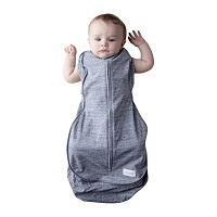 Swaddle Woombie Grow With Me Grey 0-18 months