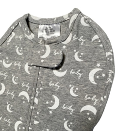 Swaddle Woombie Grow With Me Moon and Stars 0-18 months