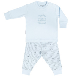 Frogs and Dogs Pyjama Blauw