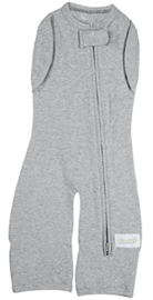 Swaddle Woombie Convertible Leggies Grey 3-6 months