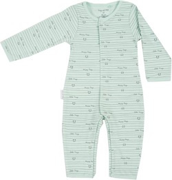 Frogs and Dogs Onesie Mint