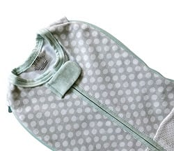 Swaddle Woombie Grow With Me Air Polka Party 0-18 months