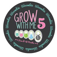 Swaddle Grow With Me White Black Dots 0-18 months