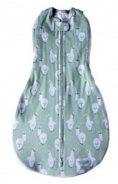 Swaddle Woombie Grow With Me Lamas 0-18 months