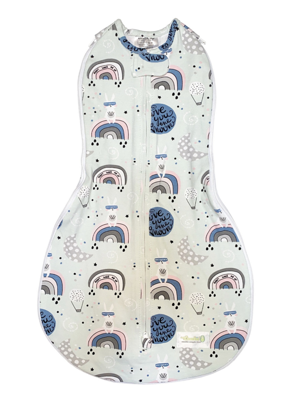 Swaddle Woombie Grow With Me Love You To The Moon And Back 0-18 months