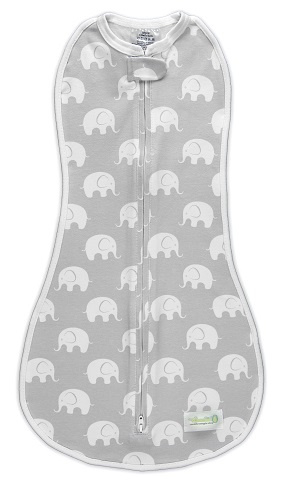 Swaddle Woombie Original Elephants 0-3 months