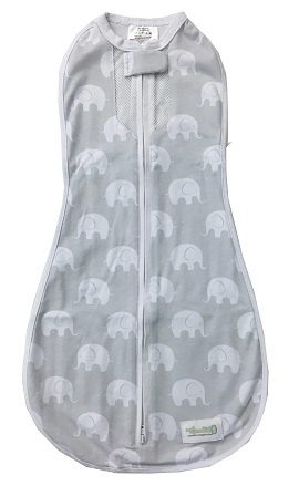 Swaddle Woombie Original Air Elephants 3-6 months