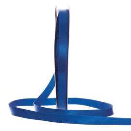 Satijn Lint Konings Blauw in verschillende breedtes