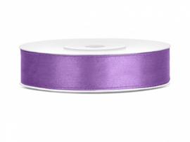 Satijn Lint - Lavendel - 12 mm - 25 meter