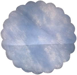 Poly Tule Baby Blauw 23cm