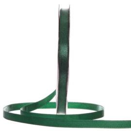 Satijn Lint Donker Groen in verschillende breedtes