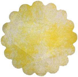 Poly Tule geel 23cm
