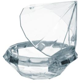 Plexi Doosje Diamant, 7 cm