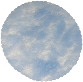 Poly Tule Baby Blauw 22 cm