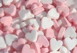 pepermunt hartjes roze