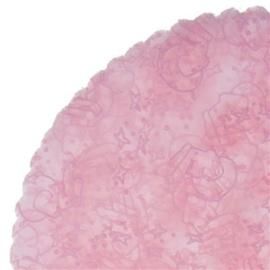 Klassieke Tule met roze bedrukking olifant
