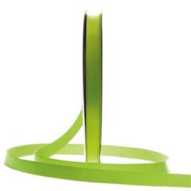 Satijn Lint Appeltjes groen in verschillende breedtes