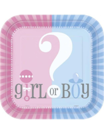 Versiering Gender Reveal Party
