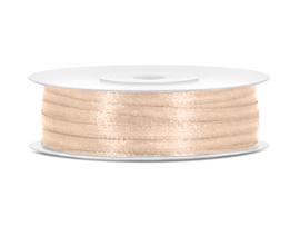 Satijn Lint - Cream - 3 mm - 50 meter
