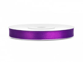 Satijn Lint - Purple - 6 mm - 25 meter