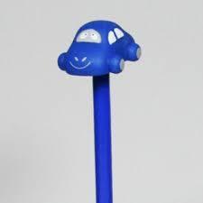 Potlood Auto Blauw, 10 stuks