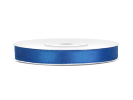 Satijn Lint - Royal Blue - 6 mm - 25 meter