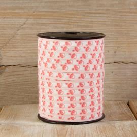 Krullint roze speentjes