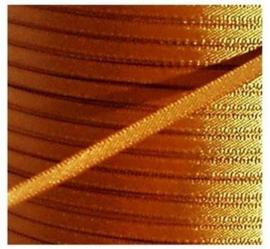 Satijn Lint 3 mm, licht bruin