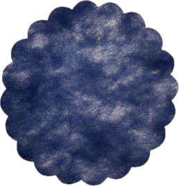 Poly Tule Blauw 23cm