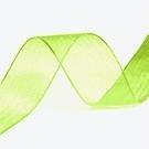 Organza Lint groen 10 mm