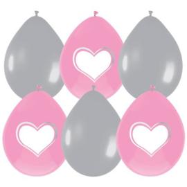 BabyGirl Ballonnen, beschrijfbaar
