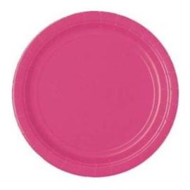 Borden hot pink, 16 stuks, 21,9 cm