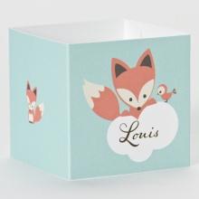 Geboortebedankjes kubus vos