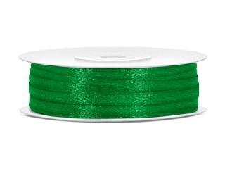 Satijn Lint 3 mm, Groen