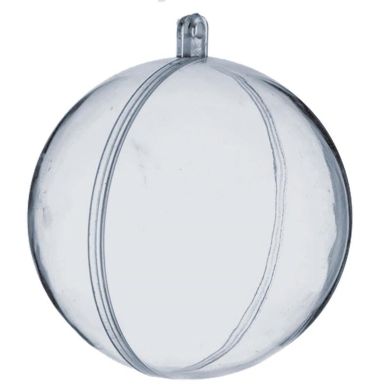 8 cm Plexi bol, transparant