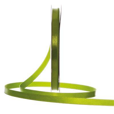 Satijn Lint Groen in verschillende breedtes