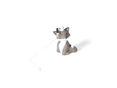 Mini sleutelhanger Cesar de Vos, Atelier Pierre Junior, Grey